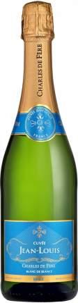 Игристое вино Charles de Fere  Cuvee Jean-Louis Blanc de Blancs Brut