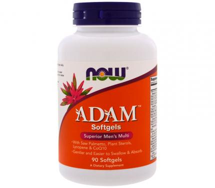 Витаминно-минеральный комплекс NOW Sports Adam Men's Multivitamin 90 капсул