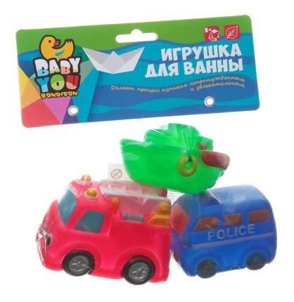 Игр. наб. для купания, Bondibon транспорт