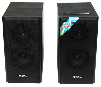 Колонки компьютерные 2.1 Dialog Blues AB-41B 2x5Вт RMS черные Bluetooth USB SD reader