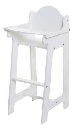 Набор кукольной мебели Paremo Шкаф со стулом белый