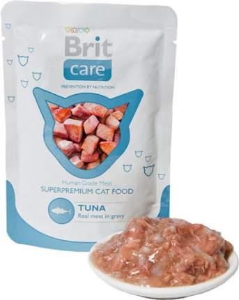 Влажный корм для кошек Brit Premium, тунец, 100г