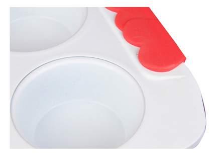 Форма для выпечки для 6 маффинов, керамическое покрытие, 31 см