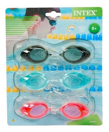 Очки для плавания Intex Sport Relay с55674, от 8 лет, 3 штуки