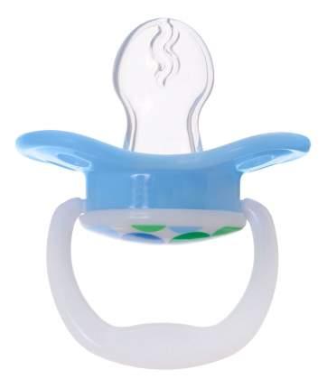 Силиконовая пустышка ортодонтическая Dr. Brown's Классик для мальчиков