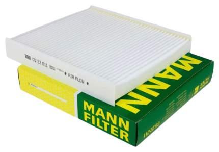 Фильтр воздушный салона MANN-FILTER CU22011