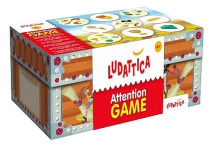 Семейная настольная игра Ludattica Сокровища пиратов
