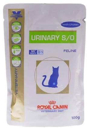 Влажный корм для кошек ROYAL CANIN Vet Diet Urinary S/O, курица, 100г