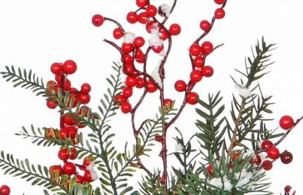 Хвойная композиция Красные ягоды в снегу 45 см 83091