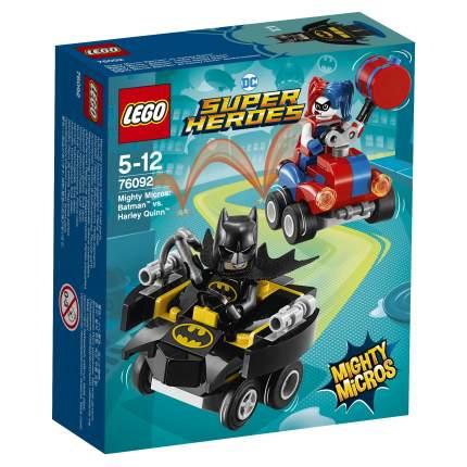 Конструктор LEGO DC Comics Super Heroes Mighty Micros Бэтмен против Харли Квин (76092)