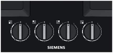 Встраиваемая варочная панель газовая Siemens EP6A6PB20R Black