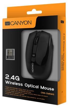 Беспроводная мышь CANYON CNS-CMSW5B Black