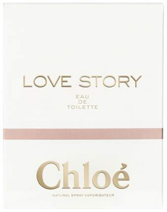 Туалетная вода Chloe Love Story 75 мл