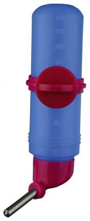 Поилка ниппельная с шариком для грызунов TRIXIE, синий, 250 мл