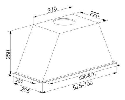Вытяжка встраиваемая Schaub Lorenz SLD EE7704 White/Silver