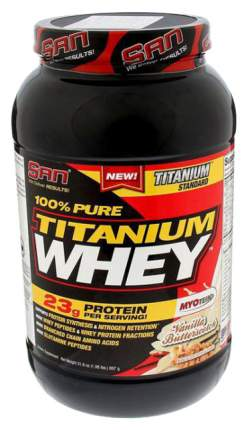 Протеин SAN Titanium Whey 100% Pure 908 г Vanilla Butterscotch