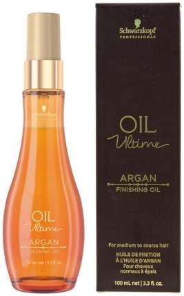 Масло для волос Schwarzkopf Professional Argan Finishing Oil 100 мл
