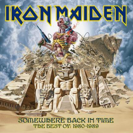 Пластинка Iron Maiden SOMEWHERE BACK IN TIME: THE BEST OF 1980-1989 (Picture disc)