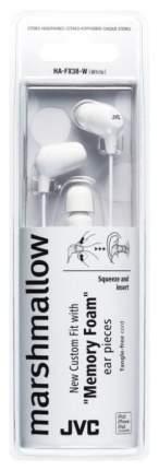 Наушники JVC HA-FX38-W White