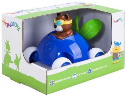 Viking toys Машинка-черничка 14 см, с Мишкой, в подарочной упаковке, арт. 81365