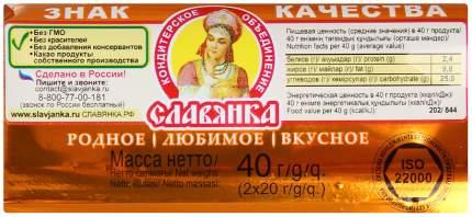 Батончики Славянка обыкновенное чудо классическое 40 г