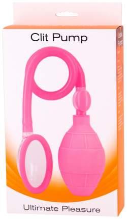 Клиторальная помпа Seven Creations Clit Pump, розовый