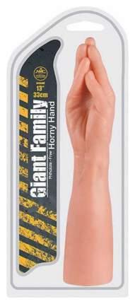 Стимулятор в форме руки HORNY HAND PALM - 33 см