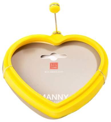 Форма для оладий и яиц Kuchenland Manny 11 см, в форме сердца