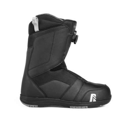 Ботинки для сноуборда Nidecker Ranger BOA 2019, black, 28