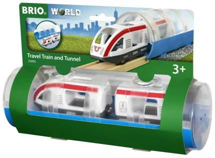 Электричка и туннель, 3 элемента Brio