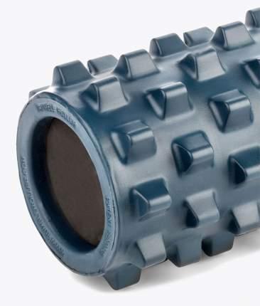 Массажный ролл RumbleRoller Blue Compact 31х13 см