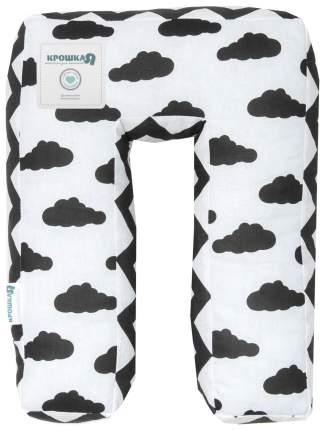 Подушка Крошка Я буква П 35х26 см, белый