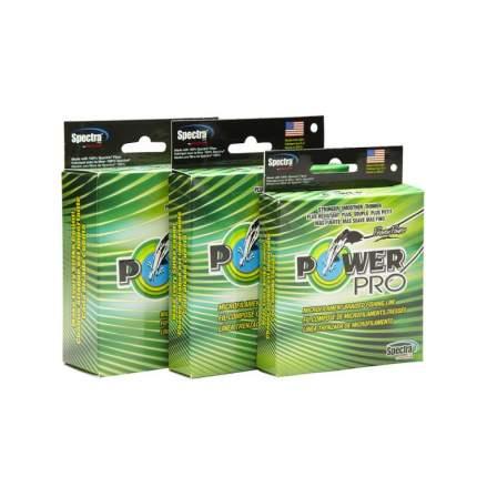 Леска плетеная PowerPro 0,19 мм, 92 м, 13 кг желтая