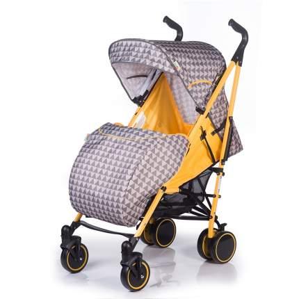 Коляска-трость BabyHit Handy серо-желтая