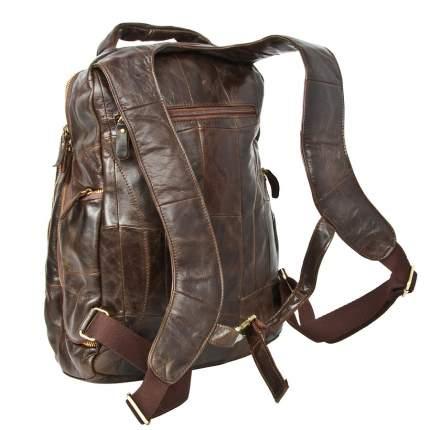 Рюкзак мужской кожаный Pola 1805 13 л коричневый