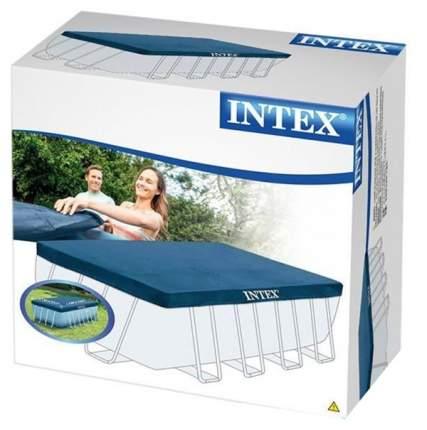 Тент для каркасного бассейна Intex Rectangular Frame 389х184см