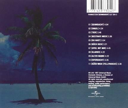 Rammstein Sehnsucht (CD)