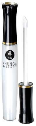 Возбуждающий блеск для губ Shunga Божественное удовольствие с клубникой и шампанским 10 мл