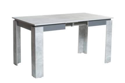 Кухонный стол Hoff 100x75x75 см, серебристый