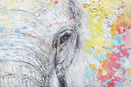 Репродукция 80x80 см Hoff Слон