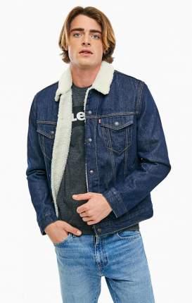 Куртка джинсовая мужская Levi's® синяя 50