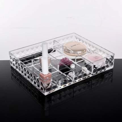 Акриловый органайзер для косметики Homsu на 8 секций Diamond