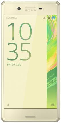 Смартфон Sony Xperia X Perfomance DS 64Gb Lime Gold (F8132)