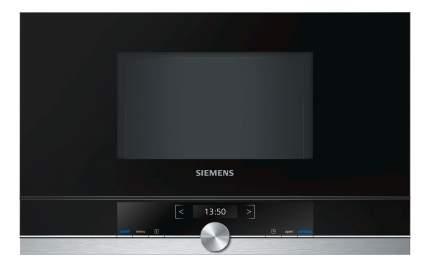 Встраиваемая микроволновая печь Siemens BF634LGS1 Black