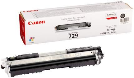 Картридж для лазерного принтера Canon 729 BK Black