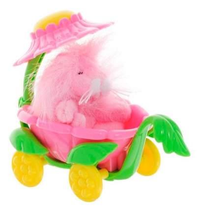 Мягкая игрушка Beanzees B32041 плюшевая Львенок в вагончике