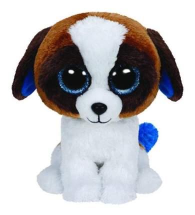 Мягкая игрушка TY Beanie Boos Щенок Duke (коричневый с белым), 15 см