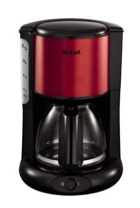 Кофеварка капельного типа Tefal Confidence CM361E Red/Black
