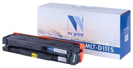 Картридж для лазерного принтера NV Print ML-TD111S, черный