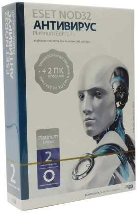 Антивирус ESET NOD32 Platinum Edition NOD32-ENA-NS-BOX-2-1 на 3 устройства 24 мес. ЗБК BOX